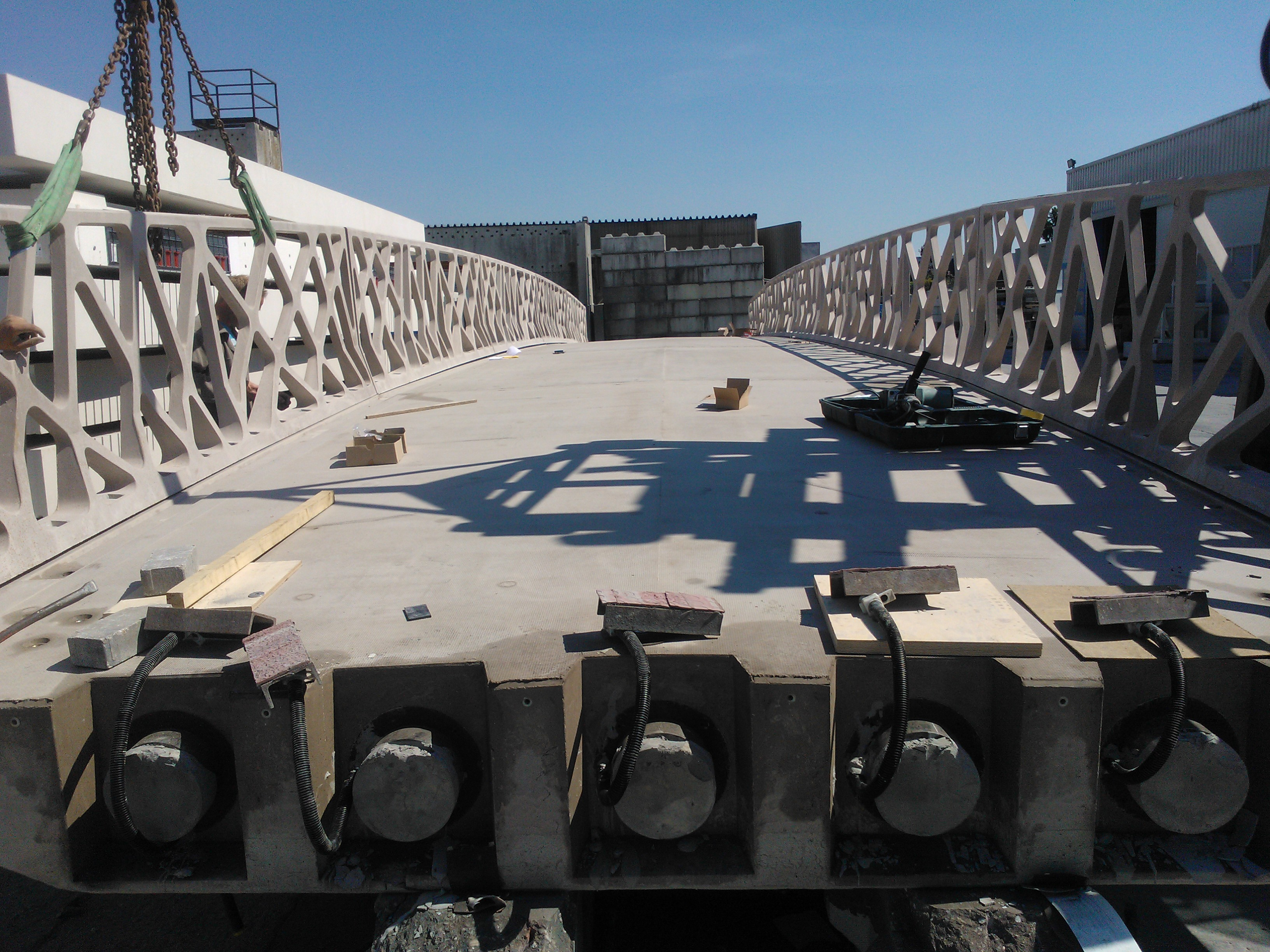 Ultrabrug in Eindhoven